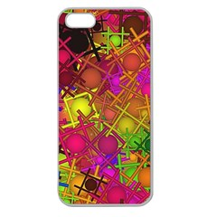 Fun,fantasy And Joy 5 Apple Seamless Iphone 5 Case (clear)
