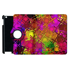 Fun,fantasy And Joy 5 Apple Ipad 2 Flip 360 Case
