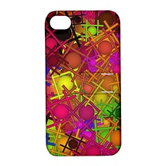 Fun,fantasy And Joy 5 Apple Iphone 4/4s Hardshell Case With Stand