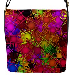 Fun,fantasy And Joy 5 Flap Messenger Bag (s)