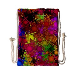 Fun,fantasy And Joy 5 Drawstring Bag (small)
