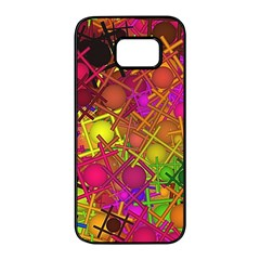 Fun,fantasy And Joy 5 Samsung Galaxy S7 Edge Black Seamless Case