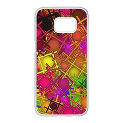 Fun,fantasy And Joy 5 Samsung Galaxy S7 Edge White Seamless Case