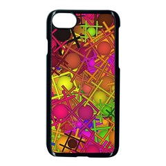 Fun,fantasy And Joy 5 Apple Iphone 8 Seamless Case (black)