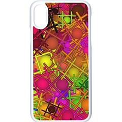 Fun,fantasy And Joy 5 Apple Iphone X Seamless Case (white)