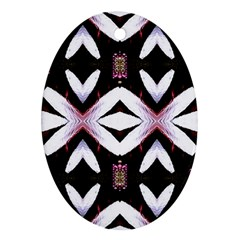Japan Is A Beautiful Place In Calm Style Ornament (oval)