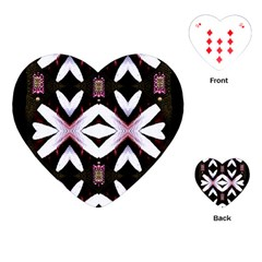 Japan Is A Beautiful Place In Calm Style Playing Cards (heart)