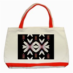 Japan Is A Beautiful Place In Calm Style Classic Tote Bag (red)