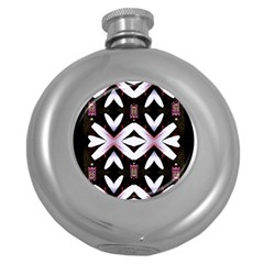 Japan Is A Beautiful Place In Calm Style Round Hip Flask (5 Oz)