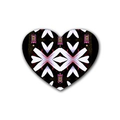 Japan Is A Beautiful Place In Calm Style Rubber Coaster (heart)