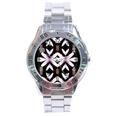 Japan Is A Beautiful Place In Calm Style Stainless Steel Analogue Watch