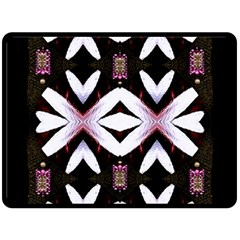 Japan Is A Beautiful Place In Calm Style Double Sided Fleece Blanket (large)