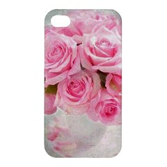 Pink Roses Apple Iphone 4/4s Hardshell Case