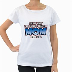 Worlds Greatest Mom Women s Loose Fit T Shirt (white)