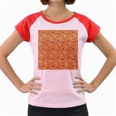 Universe Pattern Women s Cap Sleeve T Shirt