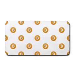 Bitcoin Logo Pattern Medium Bar Mats