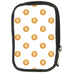 Bitcoin Logo Pattern Compact Camera Cases
