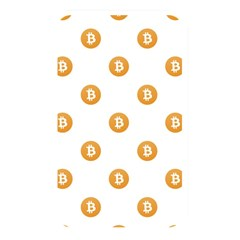 Bitcoin Logo Pattern Memory Card Reader