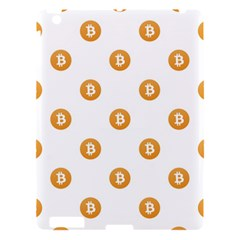 Bitcoin Logo Pattern Apple Ipad 3/4 Hardshell Case