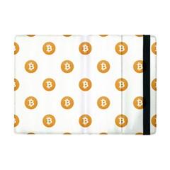 Bitcoin Logo Pattern Apple Ipad Mini Flip Case