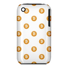 Bitcoin Logo Pattern Iphone 3s/3gs
