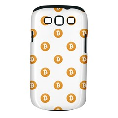 Bitcoin Logo Pattern Samsung Galaxy S Iii Classic Hardshell Case (pc+silicone)