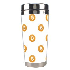 Bitcoin Logo Pattern Stainless Steel Travel Tumblers