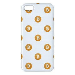 Bitcoin Logo Pattern Iphone 5s/ Se Premium Hardshell Case