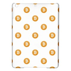 Bitcoin Logo Pattern Ipad Air Hardshell Cases
