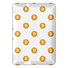 Bitcoin Logo Pattern Kindle Fire Hdx Hardshell Case