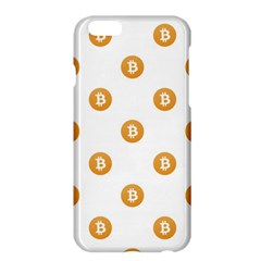 Bitcoin Logo Pattern Apple Iphone 6 Plus/6s Plus Hardshell Case