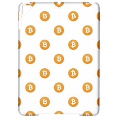 Bitcoin Logo Pattern Apple Ipad Pro 9 7   Hardshell Case