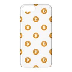 Bitcoin Logo Pattern Apple Iphone 7 Plus Hardshell Case