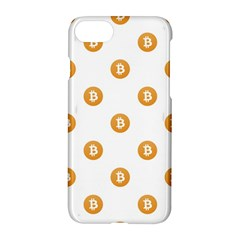Bitcoin Logo Pattern Apple Iphone 7 Hardshell Case
