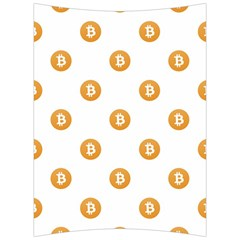Bitcoin Logo Pattern Back Support Cushion