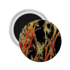 Artistic Effect Fractal Forest Background 2 25  Magnets