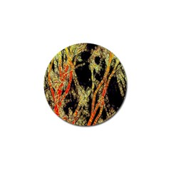 Artistic Effect Fractal Forest Background Golf Ball Marker
