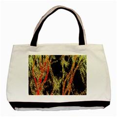 Artistic Effect Fractal Forest Background Basic Tote Bag