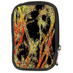 Artistic Effect Fractal Forest Background Compact Camera Cases