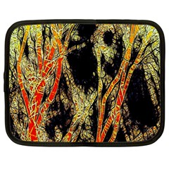 Artistic Effect Fractal Forest Background Netbook Case (xl)