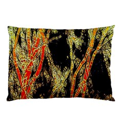 Artistic Effect Fractal Forest Background Pillow Case (two Sides)