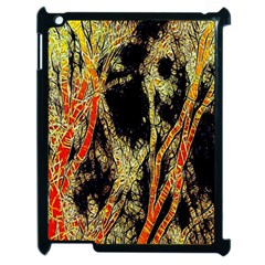 Artistic Effect Fractal Forest Background Apple Ipad 2 Case (black)