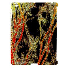 Artistic Effect Fractal Forest Background Apple Ipad 3/4 Hardshell Case (compatible With Smart Cover)