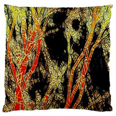 Artistic Effect Fractal Forest Background Large Cushion Case (two Sides)