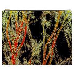 Artistic Effect Fractal Forest Background Cosmetic Bag (xxxl)