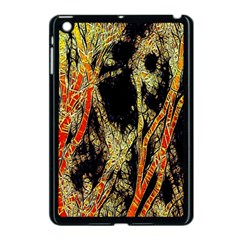 Artistic Effect Fractal Forest Background Apple Ipad Mini Case (black)