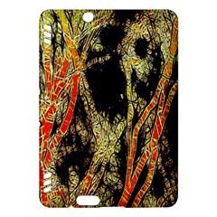 Artistic Effect Fractal Forest Background Kindle Fire Hdx Hardshell Case