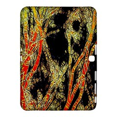 Artistic Effect Fractal Forest Background Samsung Galaxy Tab 4 (10 1 ) Hardshell Case