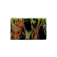 Artistic Effect Fractal Forest Background Cosmetic Bag (xs)