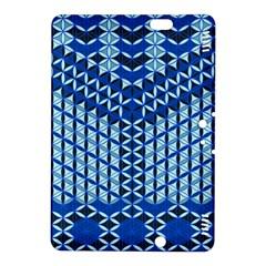 Flower Of Life Pattern Blue Kindle Fire Hdx 8 9  Hardshell Case